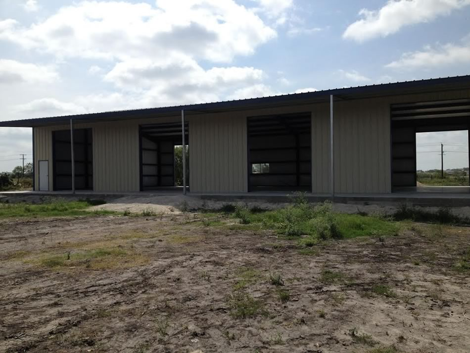 Agricultural steel metal building erector contractor for 50x100 shop house