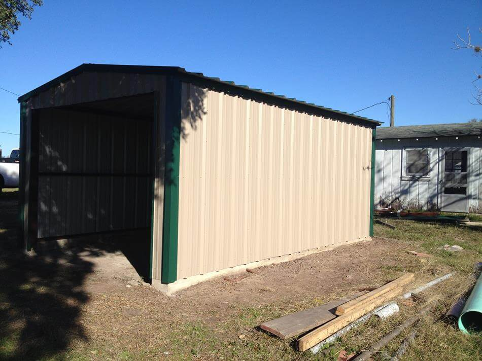 Agricultural steel metal building erector contractor for How to build a tractor shed