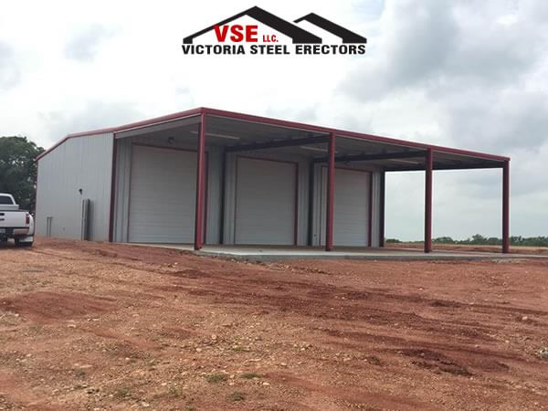 Residential Metal Building contractor in Victoria, Texas.