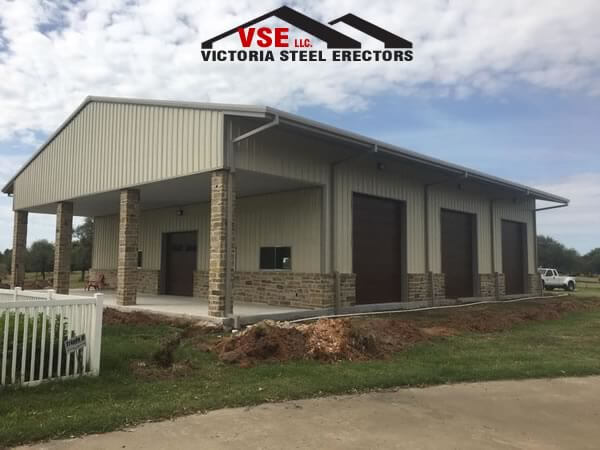 Commercial Metal Building contractor in Victoria, Texas.