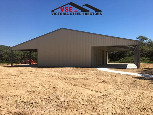 Agricultural Metal Building contractor in Victoria, Texas.