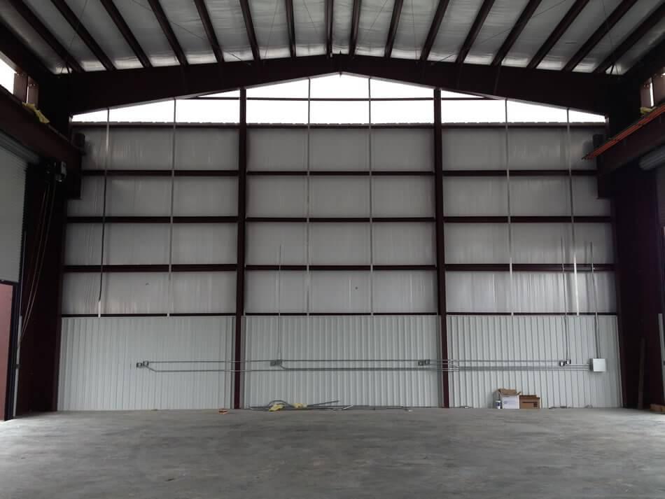 Industrial Steel Metal Building Erector Contractor
