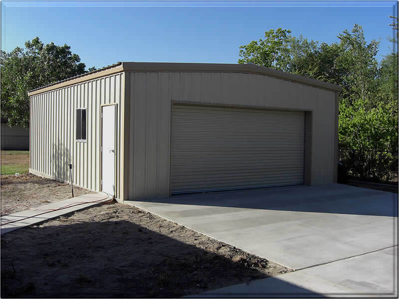 Residential Steel Metal Building Erector Contractor